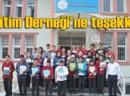 Şalpazarı Eğitim Derneği 8. Sınıf Öğrencilerine kaynak kitap gönderdi