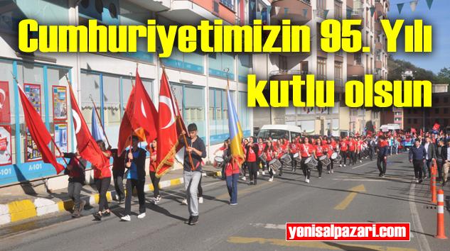 29 Ekim Cumhuriyet Bayramı törenle kutlandı