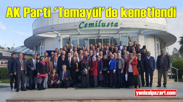 Şalpazarı AK Parti Temsilcileri Trabzon'daki Temayül Yoklaması'nda oy kullandı