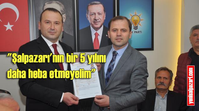 Fatih Yılmaz AK Parti Şalpazarı Belediye Başkan Aday Adayı