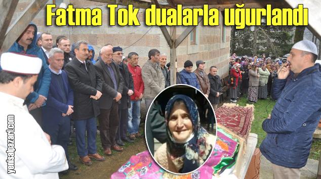Fatma Tok'un Cenazesi Kuzuluk'ta toprağa verildi