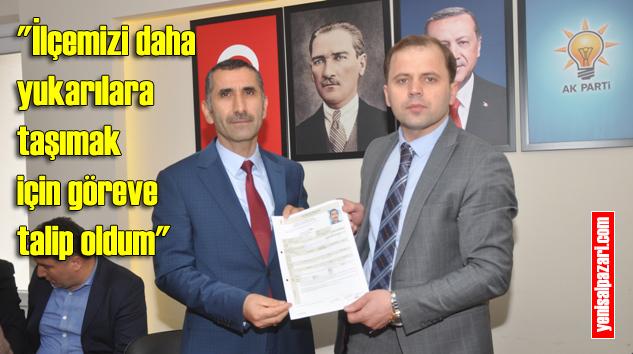 Kemal Türkmen AK Parti Şalpazarı Belediye Başkan Aday Adayı