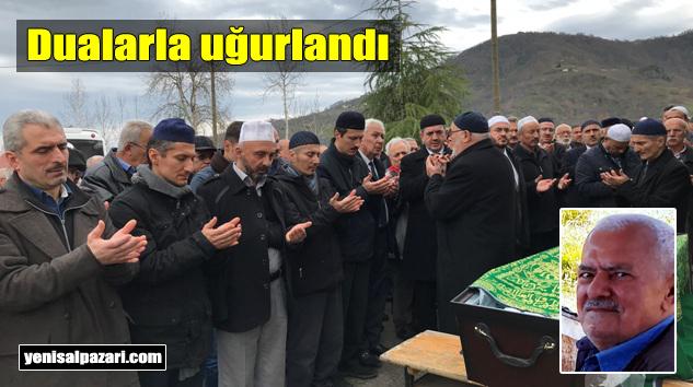 Hasan Takkaç'ın cenazesi Üzümözü Mahallesi'nde toprağa verildi