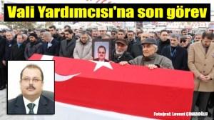 Şalpazarı eski Kaymakamı  Ahmet Turgay İmamgiller, Şarkışla'da son yolculuğuna uğurlandı