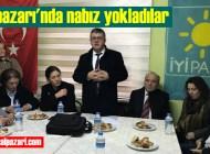 İYİ Parti Trabzon Büyükşehir Belediye Başkan Adayı Atakan Aksoy Şalpazarı'na geldi