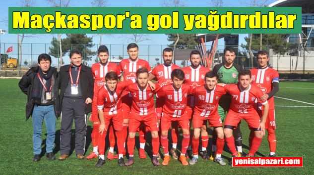 Şalpazarıspor Maçkaspor'u 8-0 mağlup etti