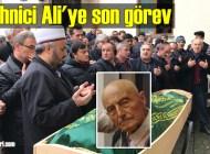 Şalpazarı eski Bakkal Ali Karabayır'ı ebediyete uğurladı