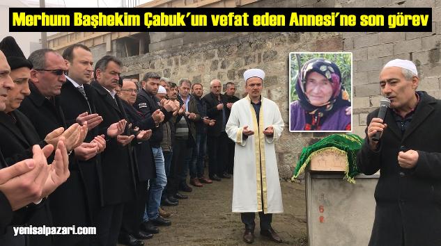 Fatma Çabuk'un cenazesi Doğancı Mahallesi'nde toprağa verildi