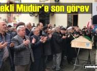 Şalpazarı Emekli İlkokul Müdürü Mustafa Karabayır'ı ebediyete uğurladı