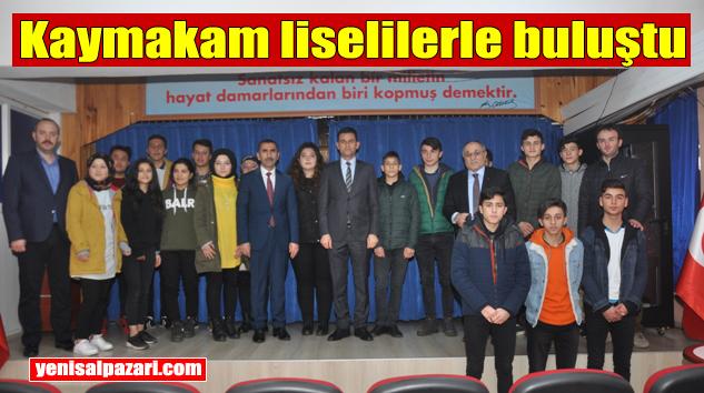 Kaymakam Murat Beşikci ÇPAL Kariyer Günleri'ne katıldı