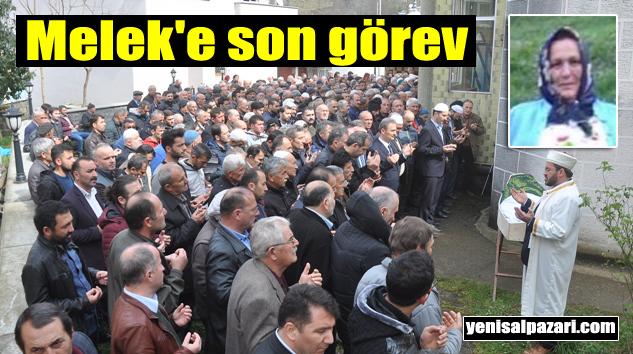 Melek Kandemir'in cenazesi Düzköy'de toprağa verildi