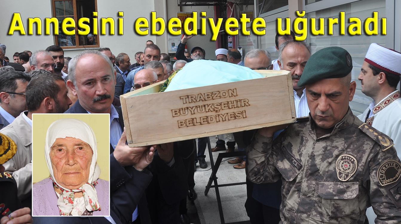 Atilla Ataman'ın vefat eden annesi Şalpazarı'nda ebediyete uğurlandı