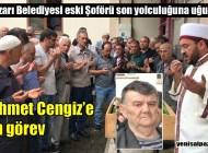 Mehmet Cengiz'in cenazesi Kireç Mahallesi'nde toprağa verildi