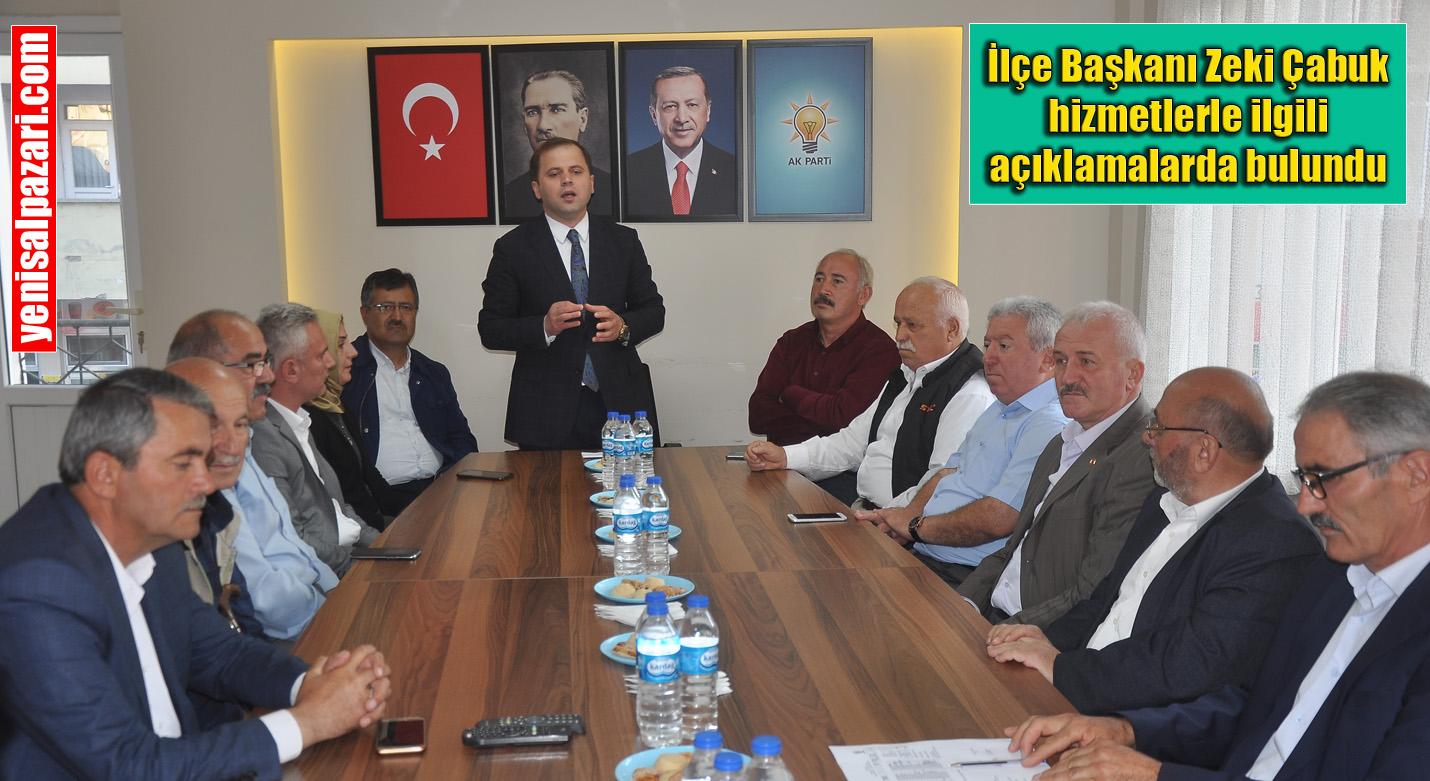 AK Parti Genişletilmiş İlçe Danışma Meclisi Toplantısı yapıldı