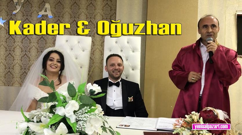 Kader Öztürk ile Oğuzhan Aksoy hayatını birleştirdi