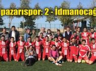 Şalpazarıspor güçlü rakibi İdmanocağı'nı 2-1 mağlup etti