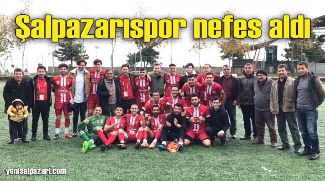 Şalpazarıspor Çarşıbaşı İskefiyespor'u 2-0 mağlup etti