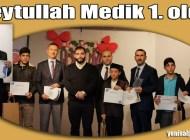 Şalpazarı İmam Hatip Ortaokulu Öğrencisi Kur'an-ı Kerim'i Güzel Okuma yarışmasında göğsümüzü kabarttı