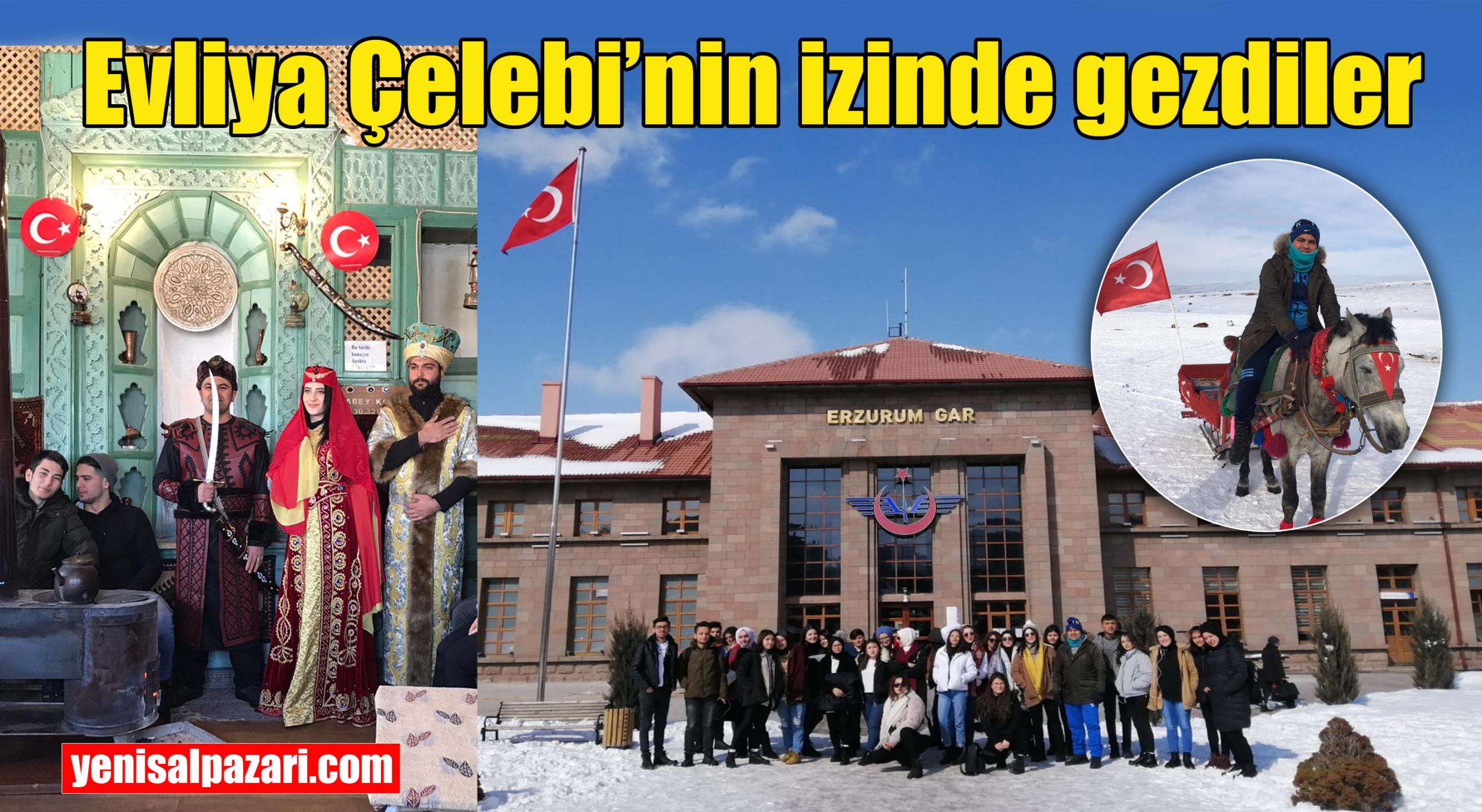 Şalpazarı A.Y.M.T.A.L. Öğrencileri Erzurum ve Kars'ı gezdiler