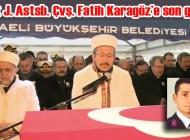 Şehit J. Astsb. Çvş. Fatih Karagöz Kartepe'de ebediyete uğurlandı