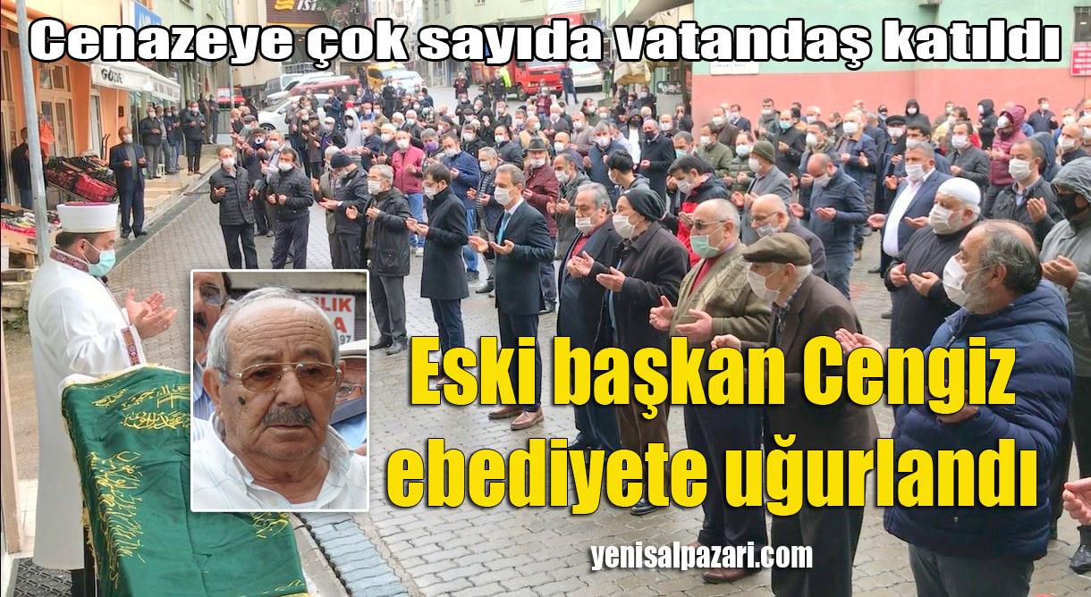 Şalpazarı ilk Belediye Başkanı Hüseyin Hasan Cengiz'i son yolculuğuna uğurlandı