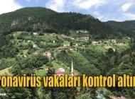 Koronavirüs nedeniyle Çamlıca Mahallesi'nde 3 ev karantinaya alındı