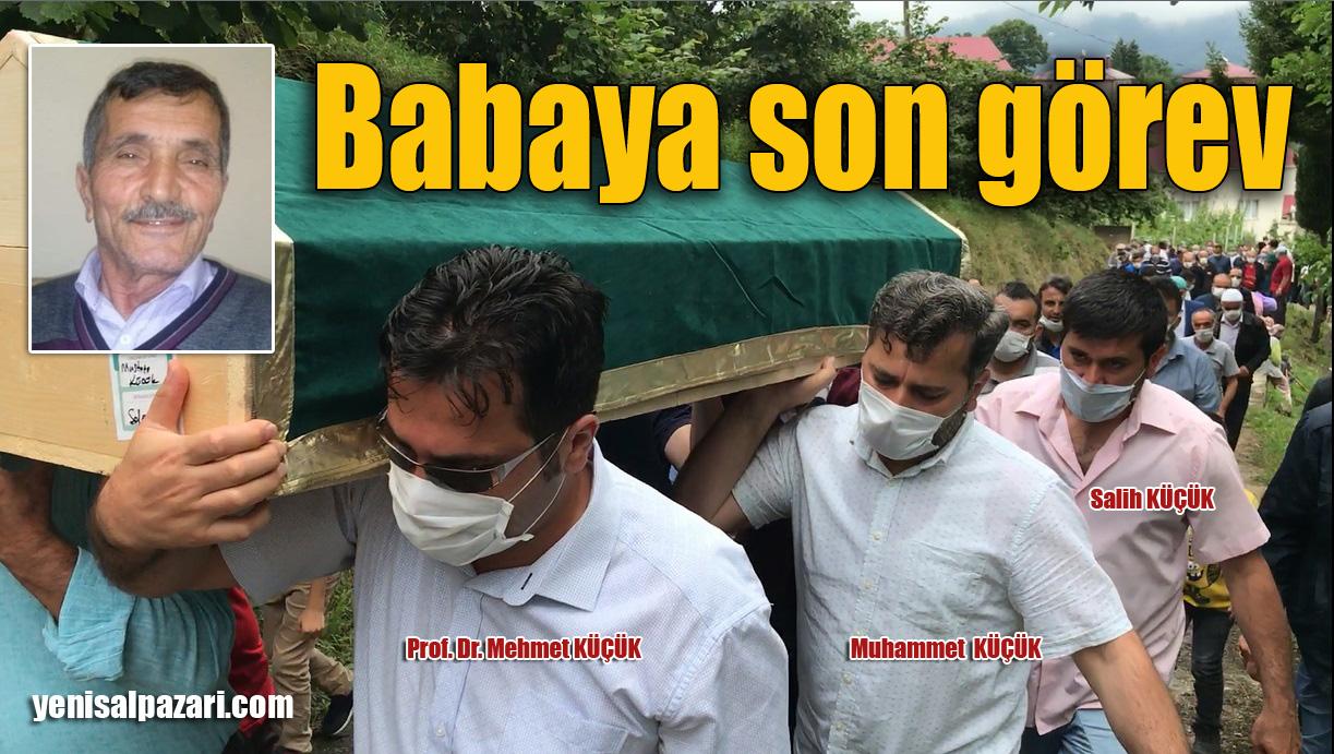 Prof. Dr. Mehmet Küçük'ün vefat eden babası Üzümözü Mahallesi'nde toprağa verildi