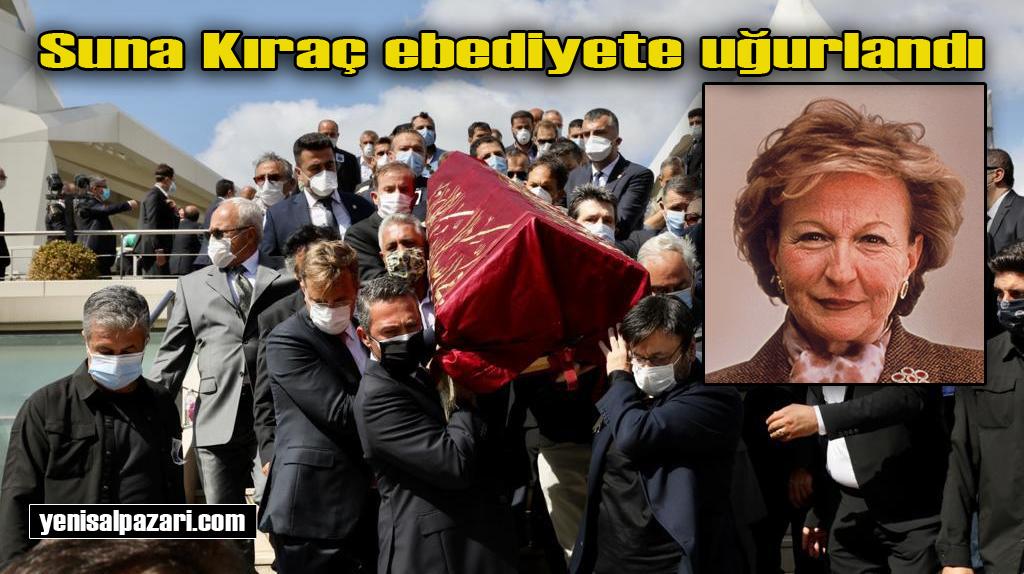 Koç Holding eski Başkan Vekili Suna Kıraç'ın cenazesi İstanbul'da toprağa verildi