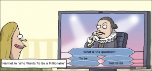 Hamlet in Who Wants to be a Millionaire
