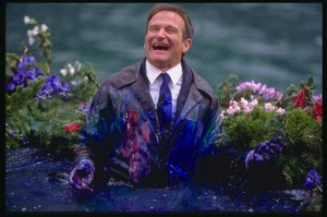 Robin Williams as Chris Nielsen.