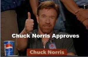 Un Chuck Norris fact te arregla cualquier ejemplo
