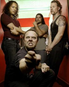 Un día cualquiera en la vida de Metallica...