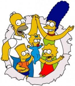 Los Simpson, amenizando las sobremesas desde 1991.