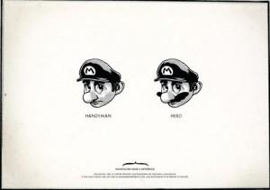 Un bigote te cambia la vida. Pregúntale a Mario.