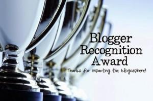 nominado blogger recognition award