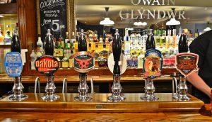 cerveza de barril en Cardiff