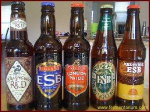 Selección de ESBs en botella.