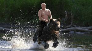 Putin and Bear