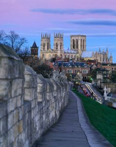 York Walls and Minster