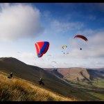 Paragliding in Peak District
