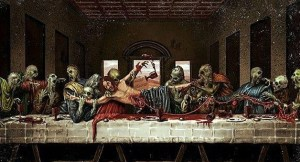 Last supper zombie