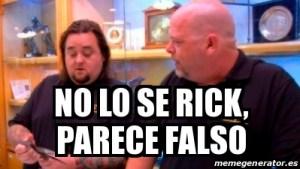 No se, Rick...
