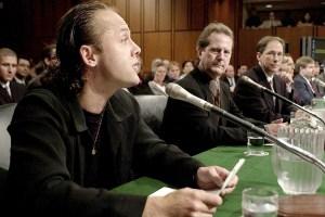 Lars Ulrich Metallica vs Napster