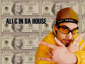 Ali G in da house by willylorbo