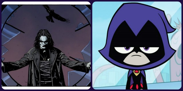The Crow Raven