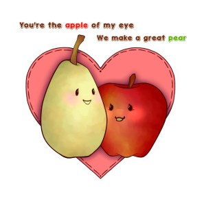idioms de comida apple of my eye great pear