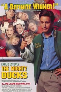 The Mighty Ducks - títulos de películas deportivas en inglés y sus adaptaciones al español.