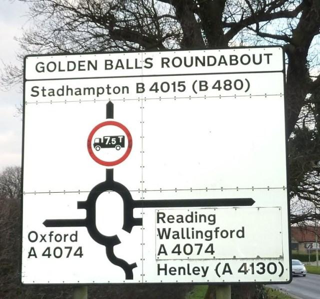Golden Balls Roundabout