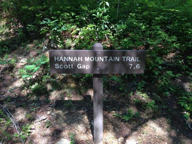 Hannah Mountain topónimos