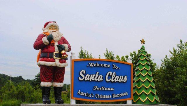 Santa Claus Indiana Nombres de lugar peculiares en Estados Unidos